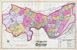 Index Map, Cambridge 1894